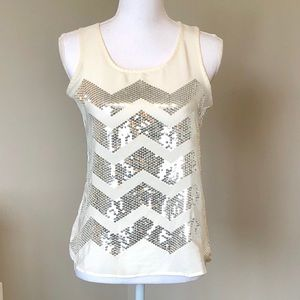 Ann Taylor Loft Factory Outlet Sequin Top